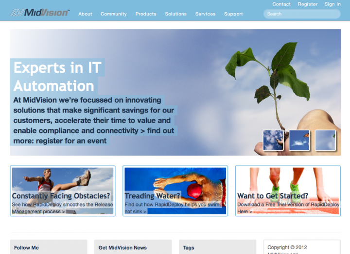 MidVision home page